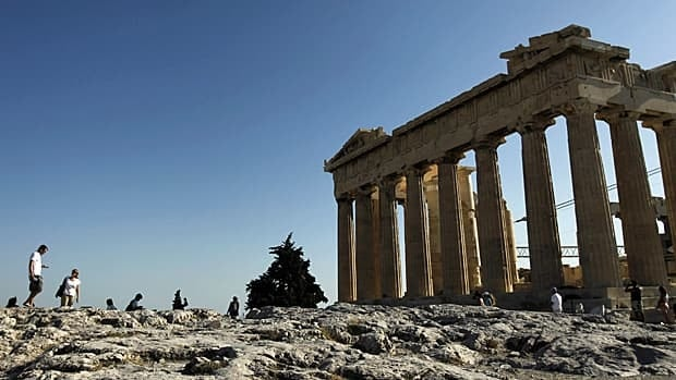 While the ultimate way out of the the Greek financial crisis is anything but clear, some options are off the table: no foreign bondholder could move in and try to seize the Parthenon in Athens.