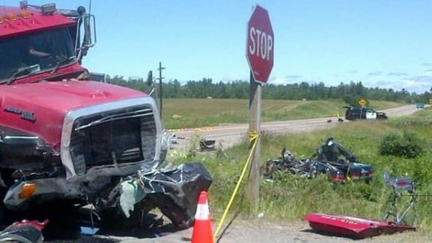 A Pembroke woman died following a three-vehicle crash northwest of Renfrew along Highway 17 in 2012. The crash occurred the same day officials from Renfrew County were in Toronto to discuss the high rate of crashes on Highway 17.
