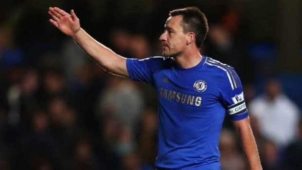 John Terry was fined a record amount by Chelsea for racially abusing an opponent.