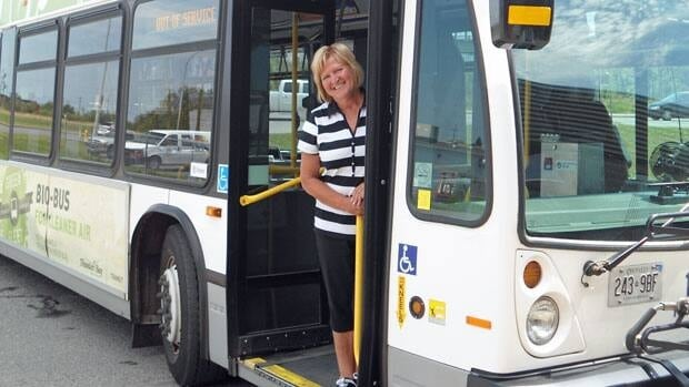 Arja Tiitto, a fleet trainer with Thunder Bay transit, said she spends between 40 and 60 hours per week training new drivers.