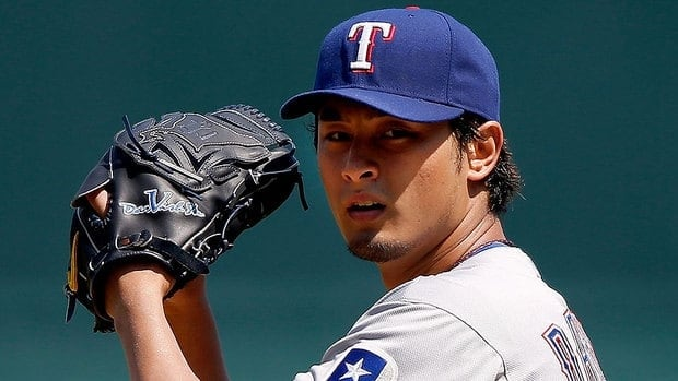 Rangers' Yu Darvish boasts a 16-9 record, 3.90 earned-run average in 29 starts in his first major league season after a stellar career in Japan.