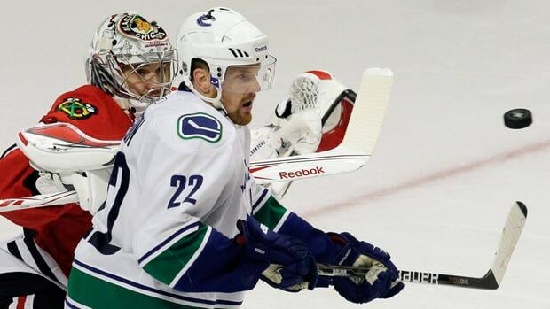 Daniel Sedin has been out of the Canucks lineup since suffering a concussion in Chicago last month. Nam Y. Huh/Associated Press