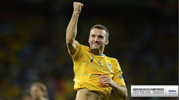 Andriy Shevchenko will be a marked man when the Ukraine take on France in group D action Friday.