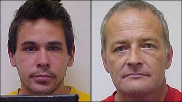 Wayne Alan Cunningham, 31, and David James Leblanc, 47, are facing forcible confinement and sexual assault charges.