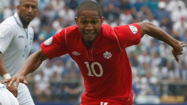 Simeon Jackson (10) and Team Canada now stand 60th overall in the FIFA world rankings.