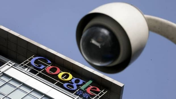A Google logo in China is seen behind a road surveillance camera. A non-profit association is in negotiations with the Digital Advertising Alliance in the U.S. to adopt a program which allows users to opt-out of ads that are targeted based on a user's past web history.