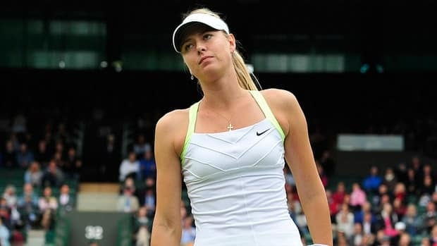 Maria Sharapova was trying to become the first woman since Serena Williams in 2002 to win the French Open and Wimbledon in the same year.