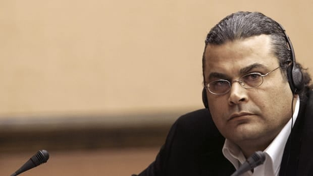 Khalid al-Masri said CIA agents abducted him and transported him to Afghanistan.(Christian Hartmann, Associated Press)