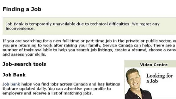The Service Canada Job Bank has been unavailable due to a security breach since Feb. 17.