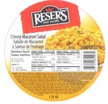 reser's macaroni recall 1.25 kg