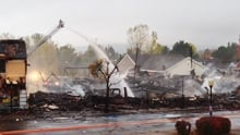 St-Donat fire
