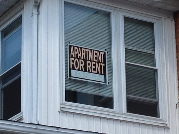 For rent sign - Sudbury
