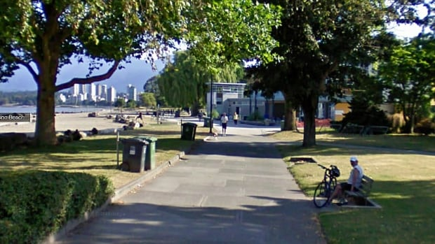 Vancouver's Kitsilano Beach Park is a popular spot for walkers year round.