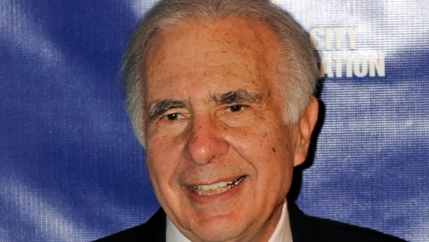 U.S. financier Carl Icahn is shown in March 2010. Talisman stock is up after he bought an almost six per cent stake in the company.