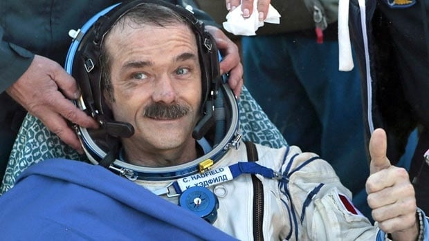 Canadian spaceman Chris Hadfield, who became famous for singing  the song Major Tom aboard the International Space Station, will begin teaching at the University of Waterloo's department of aviation sometime next fall.