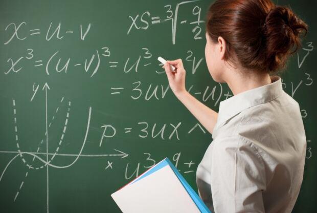 girl-math-science-chalkboard