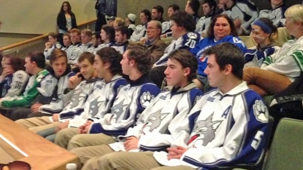 Sudbury Wolves players