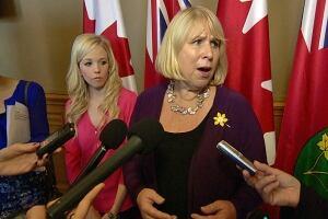Ontario Health Minister Deb Matthews addresses tanning bill