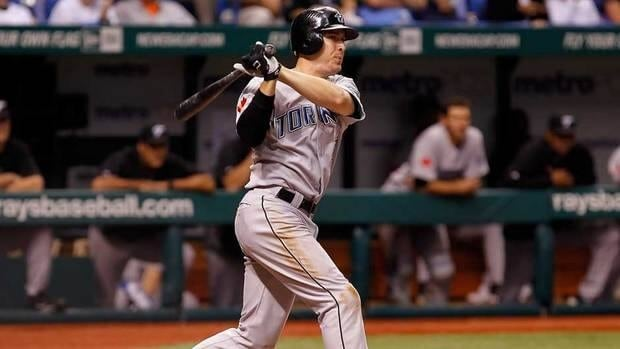Kelly Johnson hit .270 with three home runs and nine RBIs in 33 games for the Jays after coming over from the Arizona Diamondbacks in late August.