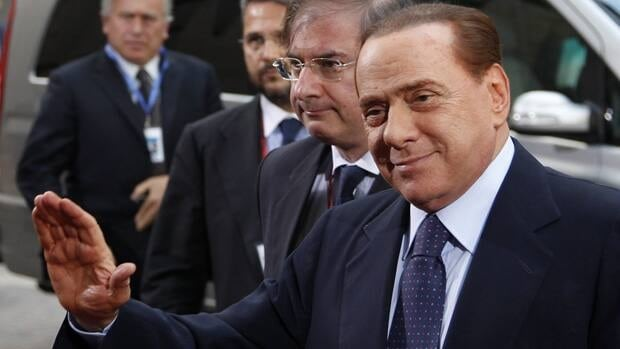 Italy's Prime Minister, Silvio Berlusconi, promised to resign after a routine vote in parliament showed he no longer had a majority.