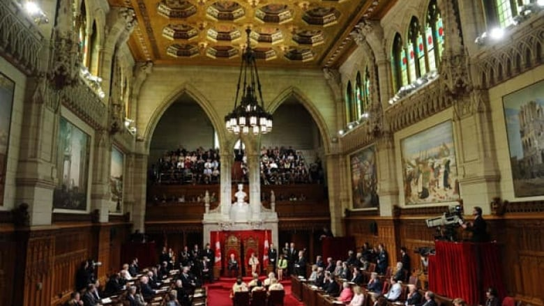NDP says Senate should be starved of funds   CBC News