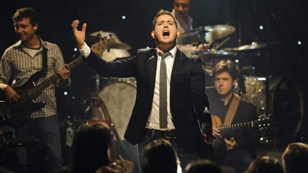 Michael Bublé performs songs from his new album Christmas in New York on Nov. 8.