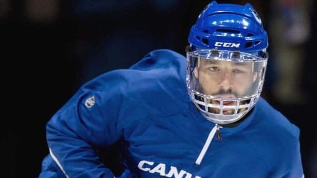 Canucks forward Manny Malhotra hasn't played since being struck in the left eye by a puck back on March 16.