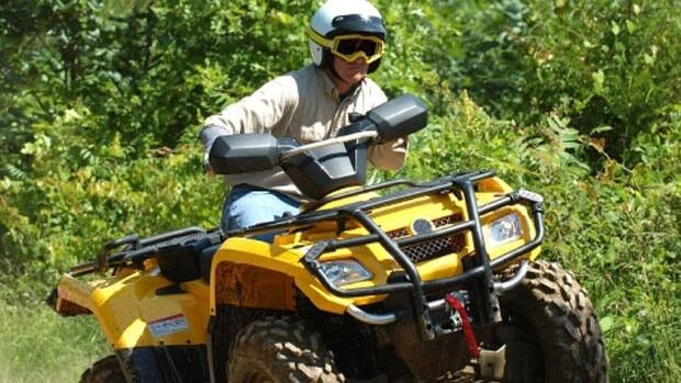 Youth under the age of 16 should not be driving ATVs, Alberta Health Services warned.