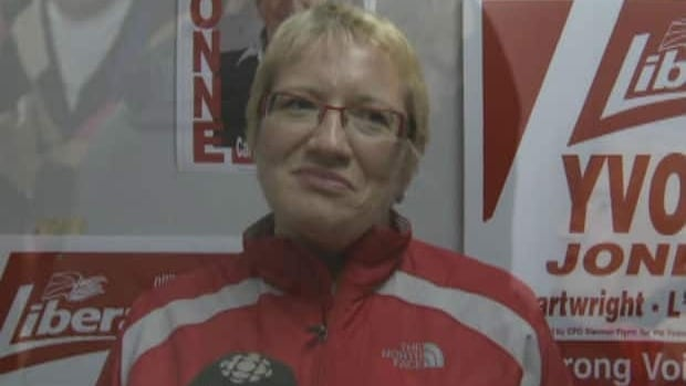 Former Liberal leader Yvonne Jones was re-elected in Cartwright-L'Anse Au Clair.