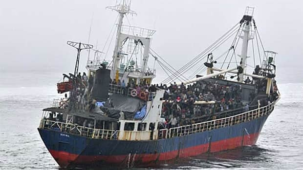 Four hundred and ninety five people arrived in Victoria aboard the MV Sun Sea last August.