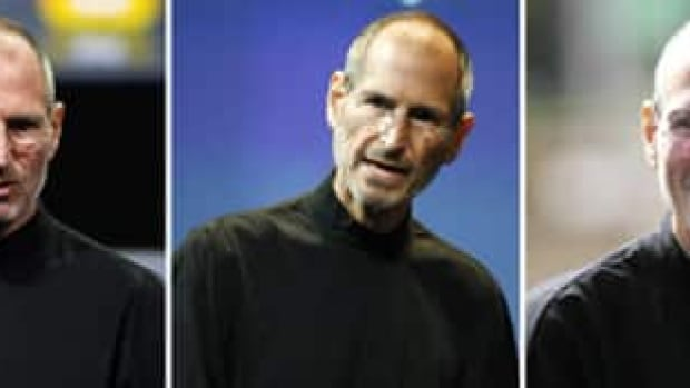 Three pictures taken in 2010 show Apple CEO Steve Jobs in January, July and October. His health has been the object of speculation since Apple announced in January that he would take a medical leave of absence for the second time in two years.