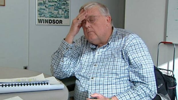 Former border services manager Jim Johnston says he is a victim of workplace bullying.