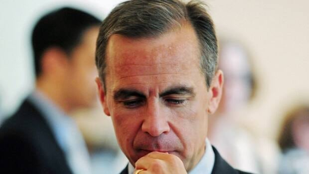 Bank of Canada Governor Mark Carney held the benchmark interest rate steady at one per cent.