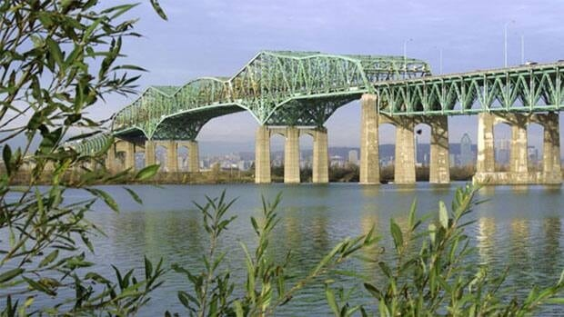 It is estimated that roughly $20 billion in international trade crosses the Champlain Bridge each year.