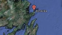 Bonavista locator map