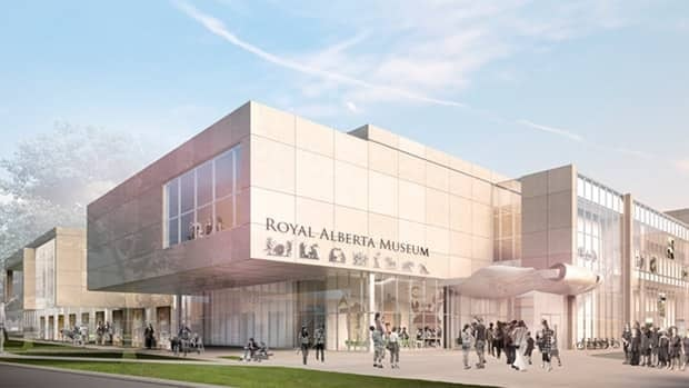 Ledcor was announced Wednesday as the winning bid to build the new Royal Alberta Museum.  This is the view from the southeast corner of 103A Avenue and 97th Street.