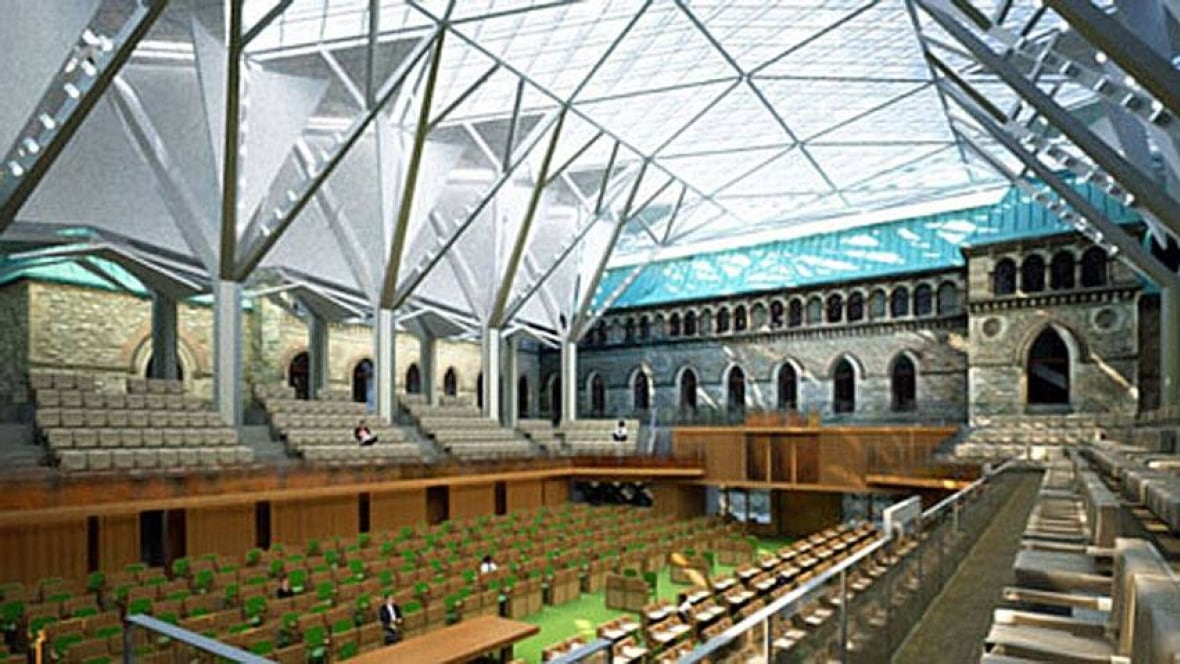 42m Glass Dome Approved For Parliament Politics Cbc News