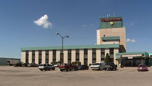 The body of a woman was found in this northwest Edmonton hotel Wednesday morning.