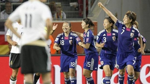 Japan pulled off a major upset when it defeated Germany in the quarter-finals.