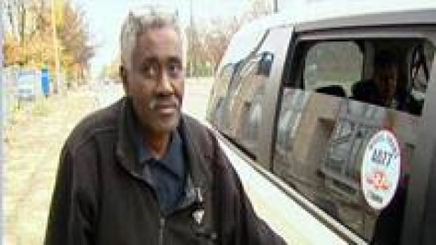 Taxi driver Haile Mebrahtu says it's almost impossible to keep to the schedule set by the TTC.