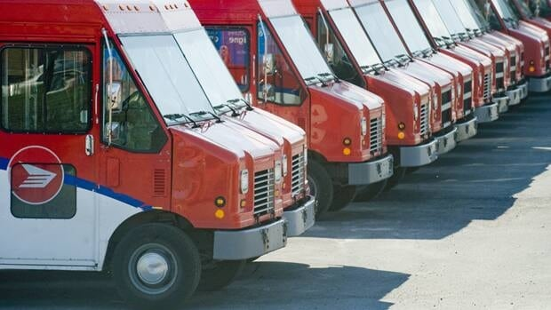 Canada Post reported revenue totalled $7.45 billion, up from $7.31 billion the previous year.