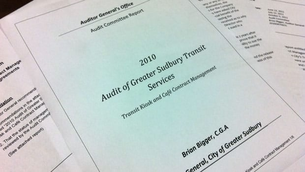 A recent Greater Sudbury auditor's report revealed thousands of dollars from bus fares were never deposited into city coffers.