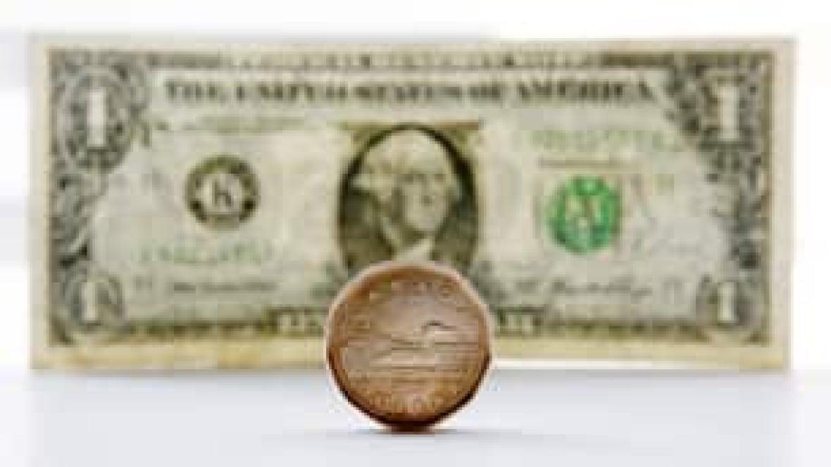 Canadian Dollar Passes U S Buck Business Cbc News