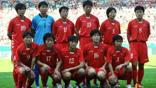 North Korea reached the quarter-finals of the 2007 FIFA Women's World Cup in China.