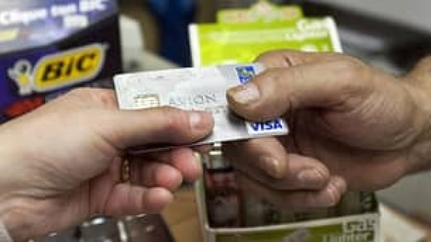 Some 11.1 per cent of Canadians pay less than two times the minimum payment on their monthly credit card bill, according to TransUnion.