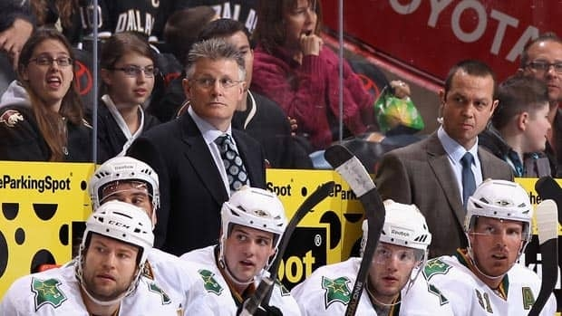 Marc Crawford was fired as coach of the Dallas Stars on Tuesday.