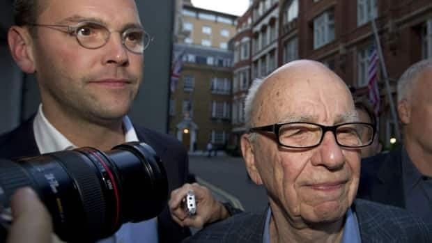 News Corp. CEO Rupert Murdoch and his son, company executive James, are the subject of shareholder resolutions to oust them.