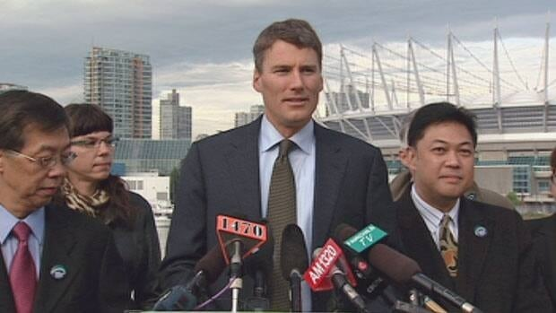 Vancouver Mayor Gregor Robertson officially launches his re-election campaign.