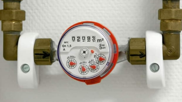 Research indicates a water meter could save an average of four cubic metres per customer per month.