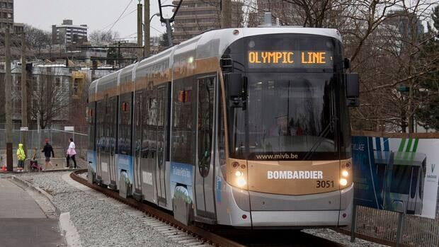 During the Vancouver 2010 Olympics, two streetcars provided free rides between the Cambie Bridge and Granville Island. Courtesy Terence Cheung